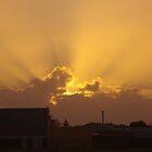 Sunset over Warnbro by lezvee