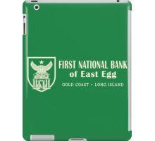 East Egg First National Bank iPad Case/Skin
