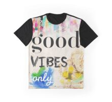 Good vibes only old style Graphic T-Shirt