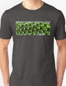 Abstract Background Made with Green Pearl Unisex T-Shirt