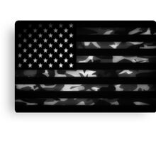 American camouflage Canvas Print