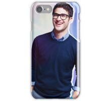 Darren smiling with glasses iPhone Case/Skin