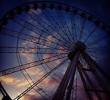 The wheel of Manchester  by Michaelocm3