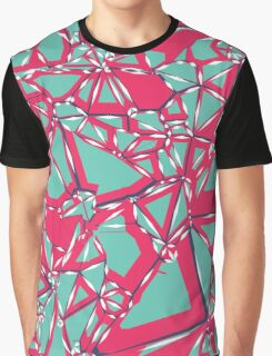 Acid Ice Cracks Graphic T-Shirt