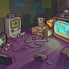 Gamers Gonna Game by Nate Bear
