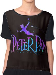 peter pan Chiffon Top