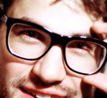 Darren with glasses Sticker
