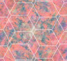 Tiled Geo Canvas Sticker