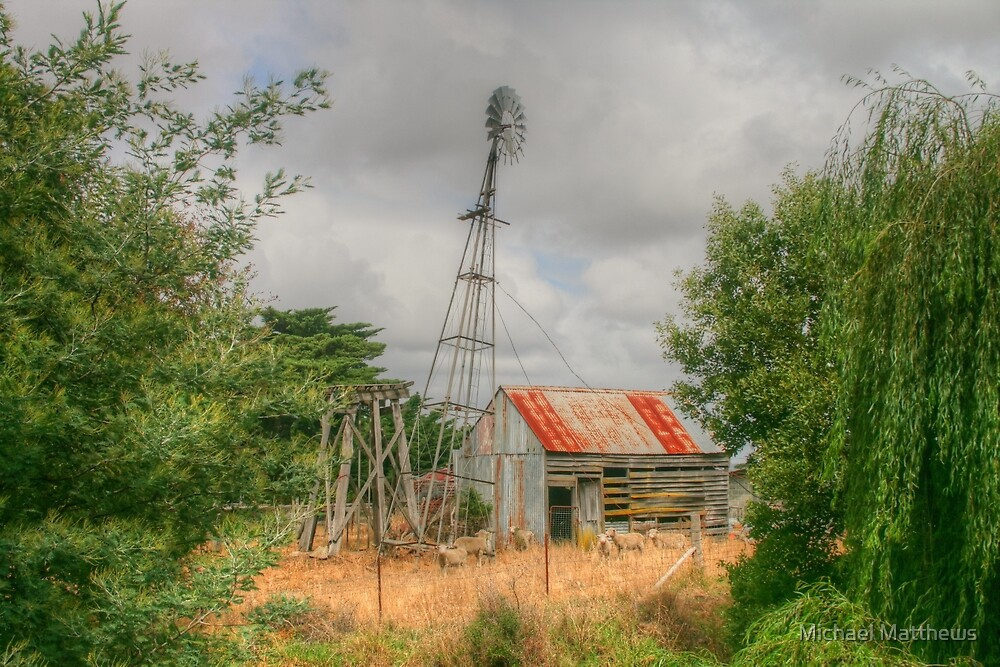 Yarram country by Michael Matthews