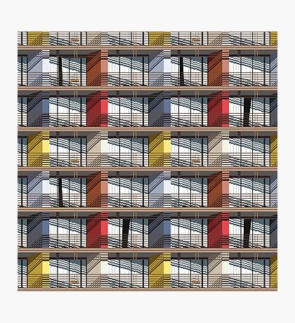 colorful facade Photographic Print