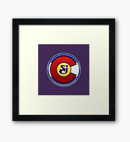 String Cheese Incident Colorado Love Framed Print