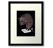 Increase In Weight Framed Print