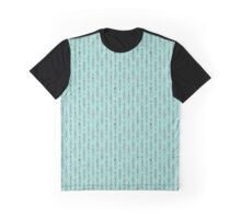 Decorated Arrows on a mint background Graphic T-Shirt