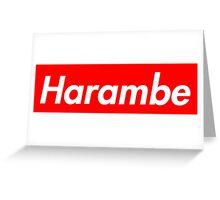 Harambe x Supreme Greeting Card