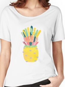 Pineapple Party Women's Relaxed Fit T-Shirt