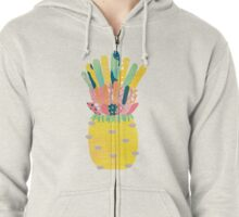 Pineapple Party Zipped Hoodie