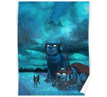 Lance Missed the Rain Poster