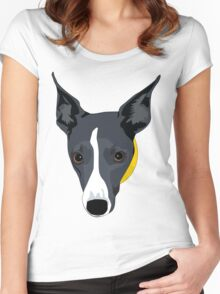 Midnight Beauty - on coloured backgrounds Women's Fitted Scoop T-Shirt