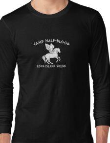 CAMP HALF-BLOOD LONG FUNNY LOGO T-Shirt