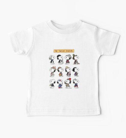 The Twelve Dogtors Baby Tee
