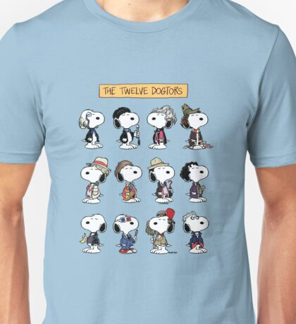 The Twelve Dogtors Unisex T-Shirt