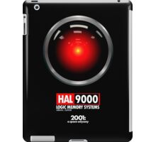 2001: A SPACE ODYSSEY (HAL 9000) iPad Case/Skin