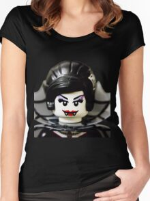 Lego Spider Lady minifigure Women's Fitted Scoop T-Shirt