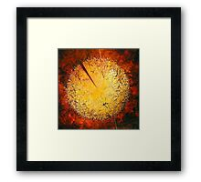 String Theory Zen by Phyllis Moser Framed Print