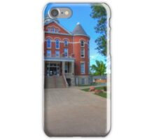 Doniphan County, Kansas, Courthouse iPhone Case/Skin