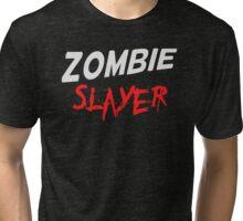 Zombie Slayer Tri-blend T-Shirt