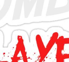 Zombie Slayer Sticker