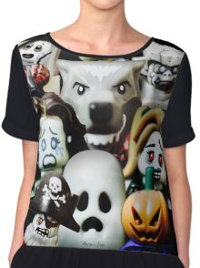Lego Monsters are coming for you Chiffon Top