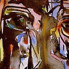 self portrait...dated by banrai