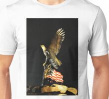 Land of the Free Home of the Brave Unisex T-Shirt