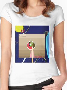 Decorative abstraction Women's Fitted Scoop T-Shirt