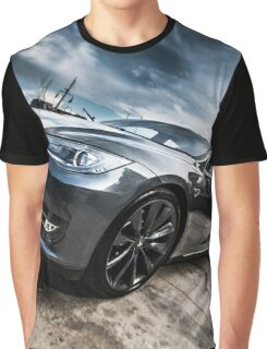 Beauty of Tesla S Graphic T-Shirt