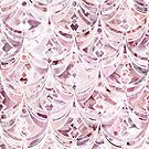 Berry Frosting Art Deco Pattern by micklyn