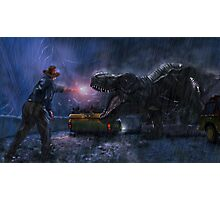 Welcome to Jurassic Park Photographic Print