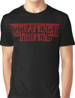 Stranger Things  Graphic T-Shirt