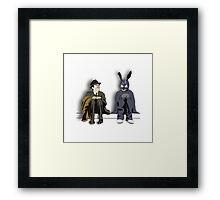 Elwood P. Darko Framed Print