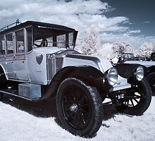 Vintage Car - InfraRed by Paul Woloschuk