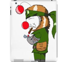 MOOGLE GEAR NUT EATER iPad Case/Skin