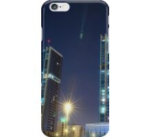 twin buildings iPhone Case/Skin