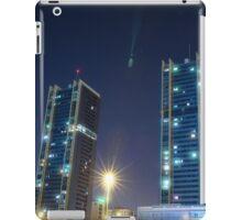 twin buildings iPad Case/Skin