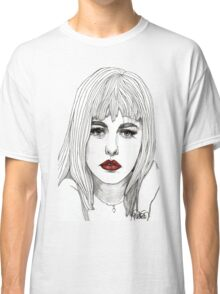 Patsy with Red Lips Classic T-Shirt