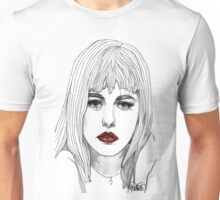 Patsy with Red Lips Unisex T-Shirt