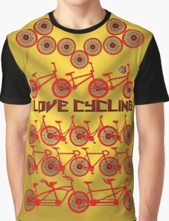 I love cycling 2 Graphic T-Shirt