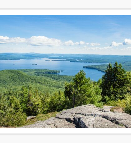 Idyllic Lake Winnipesaukee Sticker
