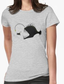 Deep Sea Exploration Womens Fitted T-Shirt