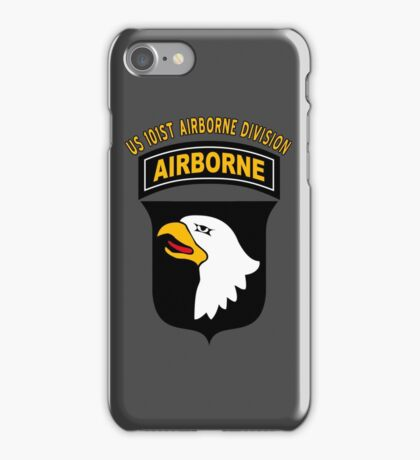 US 101ST AIRBORNE DIVISION iPhone Case/Skin